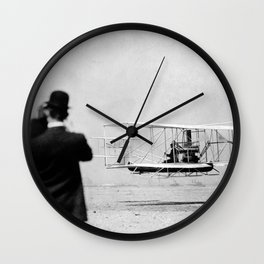 Wright Brothers Wall Clock