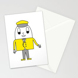Chauffeur Egg Stationery Cards