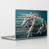 android Laptop & iPad Skins featuring android anteater by Kingu Omega