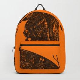 Orange Swallowtail Butterfly  Backpack