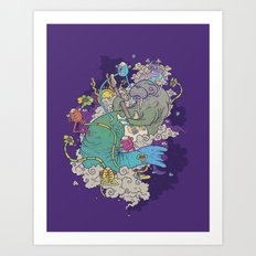 Trip of a lifetime Art Print