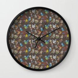 CA 12 BIRDS (CA鳥風月) Wall Clock