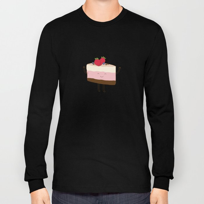 The reason why we love desserts... Long Sleeve T-shirt