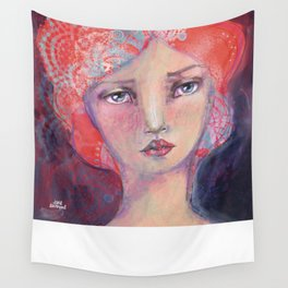 Folie by Jane Davenport Wall Tapestry
