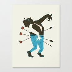 Dust Bowl Banker Canvas Print