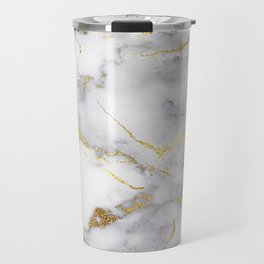 Italian gold marble Travel Mug