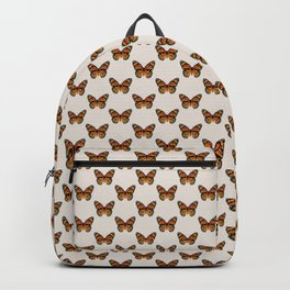 Monarch Butterfly Pattern   Vintage Butterfly Pattern   Backpack
