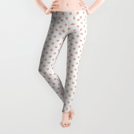 Polka Flower Spring Dots Leggings