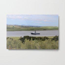 Tug -Tamar River -Tasmania* Metal Print