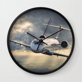40 years flying Wall Clock