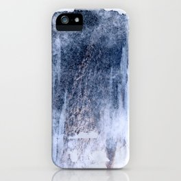 compressed waves iPhone Case