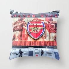 Arsenal FC Emirates Stadium London Throw Pillow