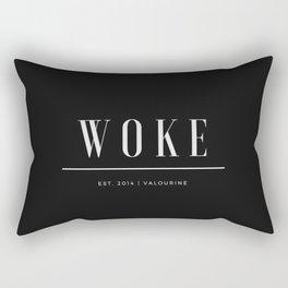 Woke 2 Dark Rectangular Pillow
