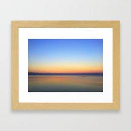 Galilee Sunset Framed Art Print
