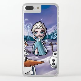 Let it go Clear iPhone Case