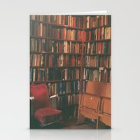 library Stationery Cards featuring library by Taylor Yocom