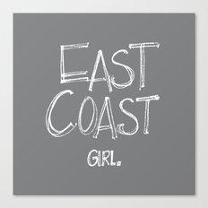East Coast, Girl. Canvas Print