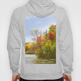 Leaning into Autumn Hoody