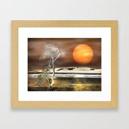 Light Effect Framed Art Print