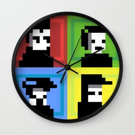 The Color Junkies Wall Clock