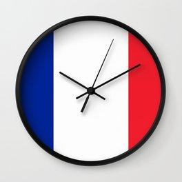 France Flag Wall Clock