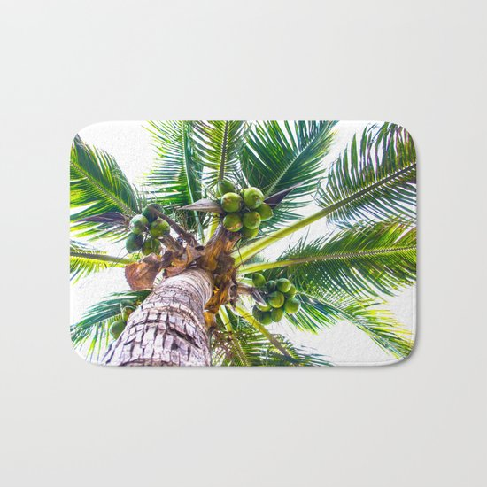 How About Those Coconuts Bath Mat