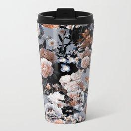 Natural Flowers Metal Travel Mug