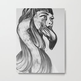 you are so beautiful // and i am so shy  Metal Print