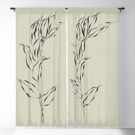 Elegant Branch #2 Blackout Curtain