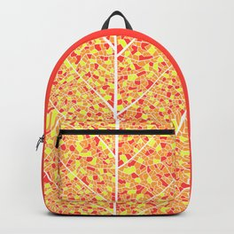 Fall Colours & White Lines Backpack