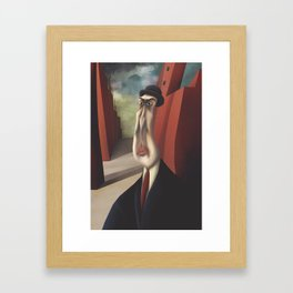 Uncertainty Framed Art Print