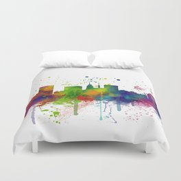 Baltimore Skyline Duvet Cover