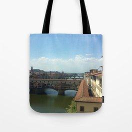 Ponte Vecchio, Florence Tote Bag
