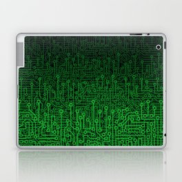 Reboot II GREEN Laptop & iPad Skin