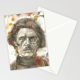 MAXIM GORKY - watercolor portrait.1 Stationery Cards