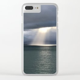 Alaskan light Clear iPhone Case