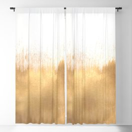 Brushed Gold Blackout Curtain