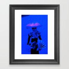 La huesuda Framed Art Print