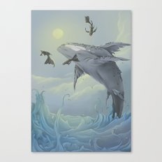 Celestial Travellers  Canvas Print