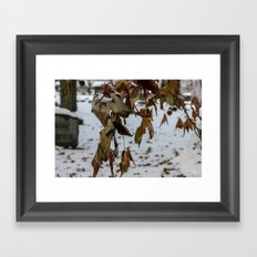 Overhang Framed Art Print