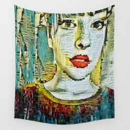 Serendipity Beyond Smashed Mirrors Wall Tapestry