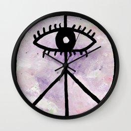 Peace Eye Wall Clock