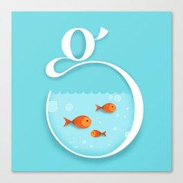 G like Goldfish Canvas Print