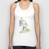 kevin russ Tank Tops featuring Kevin by Sadie Padial