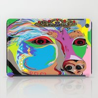 rottweiler iPad Cases featuring Lady Rottweiler by EloiseArt