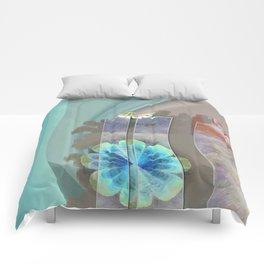 Intercuts Spacing Flowers  ID:16165-035402-83141 Comforters
