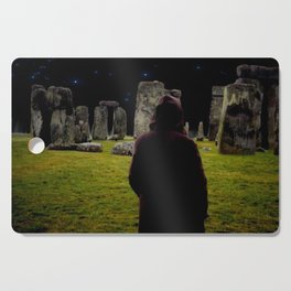 Druid Princess of Stonehenge Cutting Board