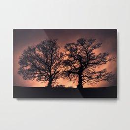 Ethereal Trees  Metal Print