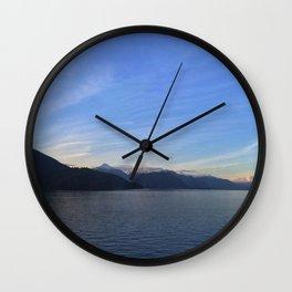 Ocean Calm I Wall Clock