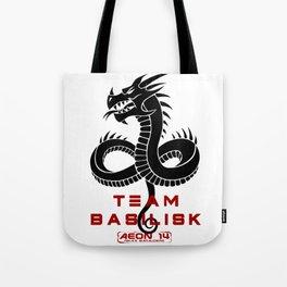 Rika's Marauders - Team Basilisk -Black Tote Bag